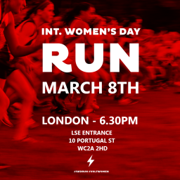 International Women's Day Run – London